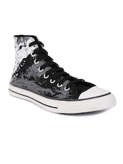 Converse Men As Sketch Hi Black Casual Shoes