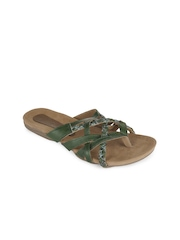Catwalk Women Green Sandals