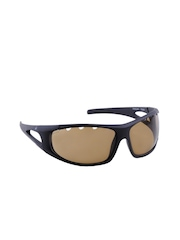 Fastrack Men Black UV Protected Sporty Sunglasses