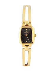 Titan Women Black Dial Watch