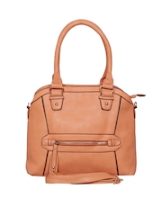 A Progeny Peach Coloured Handbag