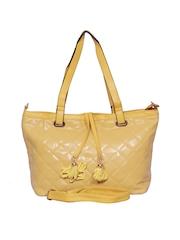 A Progeny Yellow Shoulder Bag