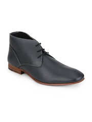 Men Navy Blue Formal Shoes A By Arden