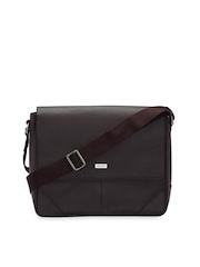 Adamis Men Brown Messenger Bag