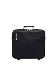 Adamis Unisex Black Luggage Bag