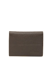 American Tourister Men Brown Leather Card Holder