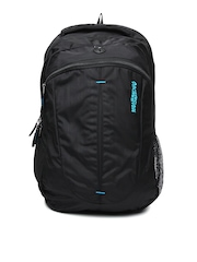 American Tourister Unisex Black Buzz Backpack