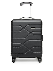 American Tourister Black Houston City Trolley Suitcase