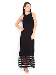 AND by Anita Dongre Black Maxi Dress