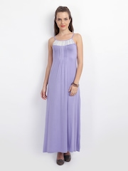 AND by Anita Dongre Lavender Maxi Dress