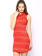 AND by Anita Dongre Red Sheath Dress