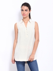 AND by Anita Dongre Women Beige Tunic