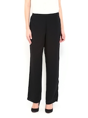 AND by Anita Dongre Women Black Palazzo Trousers