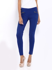 AND by Anita Dongre Women Blue Trousers