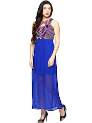 AND by Anita Dongre Blue Maxi Dress