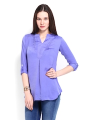 AND by Anita Dongre Women Lavender Tunic
