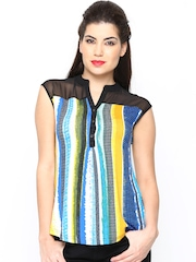 AND by Anita Dongre Women Multicoloured Printed Top
