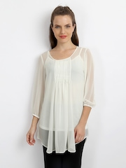 AND by Anita Dongre Women Off-White Tunic