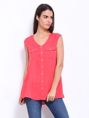 AND by Anita Dongre Women Pink Tunic