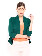 AND by Anita Dongre Green Shrug