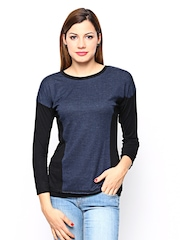 AND by Anita Dongre Women Navy Top