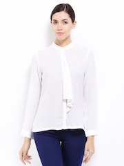 AND by Anita Dongre Women White Casual Shirt