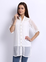 AND by Anita Dongre Women White Tunic