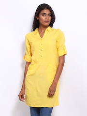 AND by Anita Dongre Women Yellow Tunic