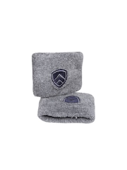 ARMR Unisex Pack of 2 Grey Wristbands