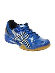 ASICS Men Blue Domain 2 Volleyball Shoes