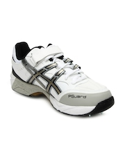 ASICS Men White Gel Speed Menace Left Foot Cricket Shoe