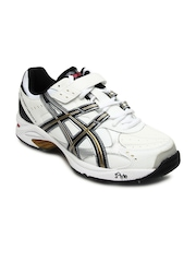 ASICS Men White Gel Speed Menace Right Foot Cricket Shoe