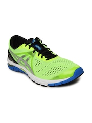 ASICS Men Neon Green Gel Excel33 3 Running Shoes