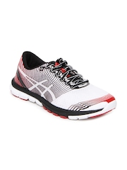 Asics Men White Gel Lyte33 3 Sports Shoes