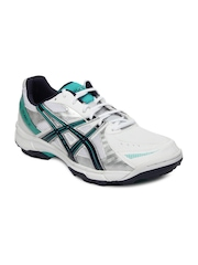 ASICS Men White Gel-Peake 2 Cricket Shoes