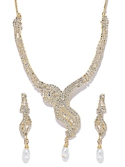 Aakshi Gold-Toned Jewellery Set
