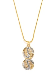 Aakshi Gold-Toned Pendant with Chain