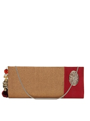 Aarnacraft Gold Toned Clutch