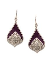 Accessorize Burgundy Drop Earrings