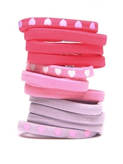 Accessorize Girls Set of 12 Hairbands