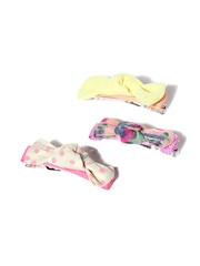 Accessorize Girls Set of 3 Multicoloured Hair Clips