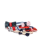 Accessorize Girls Set of 5 Hairbands