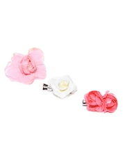 Accessorize Girls Set of 3 Hair Clips