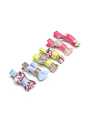Accessorize Girls Set of 6 Multi-Coloured Hair Clips