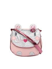 Accessorize Girls Pink Sling Bag
