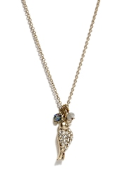 Accessorize Gold Toned Pendant with Chain