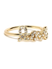 Accessorize Gold Toned Ring