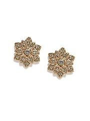 Accessorize Gold-Toned Stud Earrings