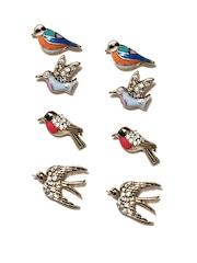 Accessorize Set of 4 Stud Earrings