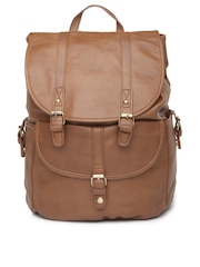 Accessorize Women Brown Backpack